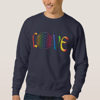 Flower of Life / Blume des Lebens - LOVE Sweatshirt