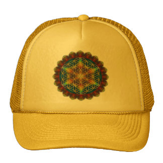 FLOWER OF LIFE / Blume des Lebens - Mandala III Cap