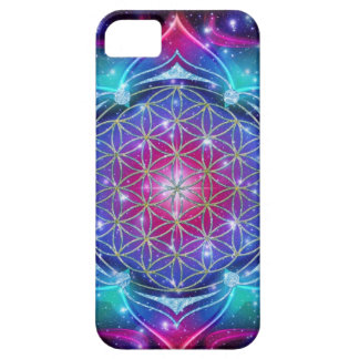 FLOWER OF LIFE/Blume des Lebens Mandala IV Square iPhone 5 Cover