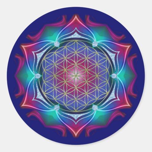 FLOWER OF LIFE / Blume des Lebens - Mandala IV Sticker