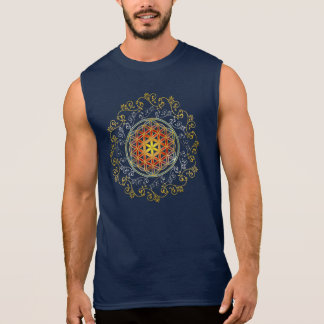Flower of Life / Blume des Lebens - Ornament IV Sleeveless Shirt