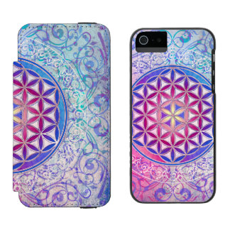 Flower Of Life / Blume des Lebens - Ornament V Incipio Watson™ iPhone 5 Wallet Case