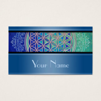 Flower Of Life / Blume des Lebens - Ornament VI Business Card