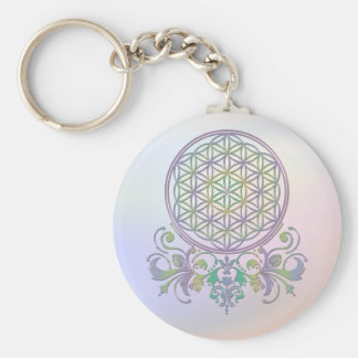 Flower of Life / Blume des Lebens - Ornaments II Keychain