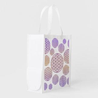 Flower of Life / Blume des Lebens - pattern violet