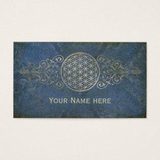Flower of Life / Blume des Lebens - vintage IX Business Card