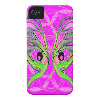 Flower of Life Butterfly Connection iPhone 4 Case