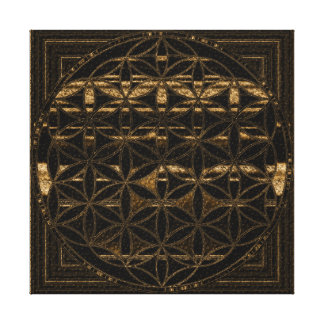 Flower of Life Canvas Prints