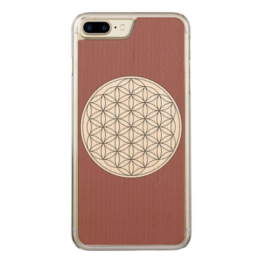 Flower of Life Carved iPhone 8 Plus/7 Plus