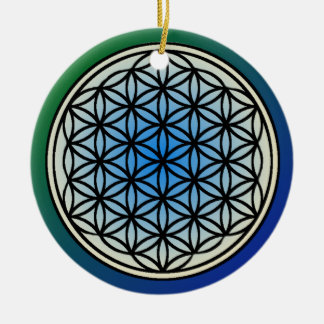 Flower of Life Circle Ornament