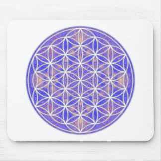 Flower of Life (Color 3) Mouse Pad