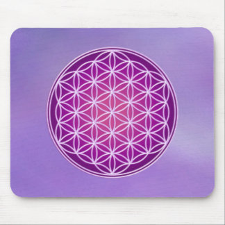 Flower of Life - Crown Chakra Mouse Pad