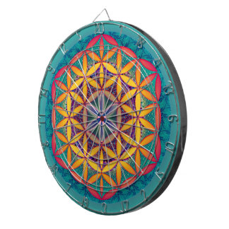 Flower of Life Dartboard