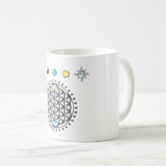 Flower Of Life Divinity In Nature Mug
