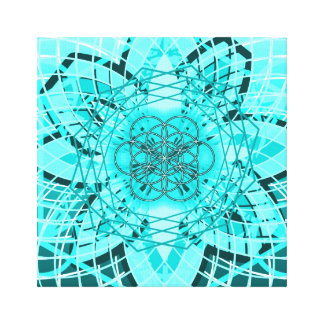 Flower of Life ... Gallery Wrapped Canvas
