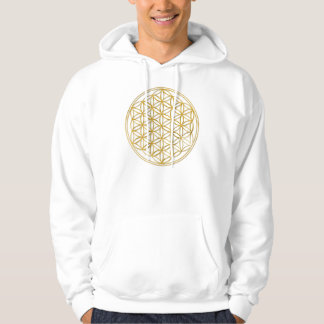 Flower OF Life | gold big Hoodie