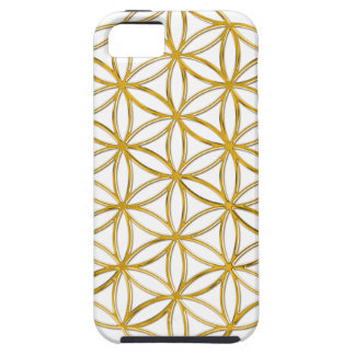 FLOWER OF LIFE - gold iPhone 5 Cover