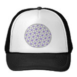 Flower of Life Grey Lilac Cap