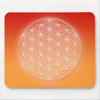 Flower of Life - I AM Mouse Pad