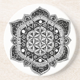Flower of Life II Coaster