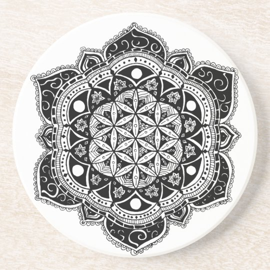 Flower of Life II Drink Coasters
