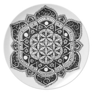 Flower of Life II Plate