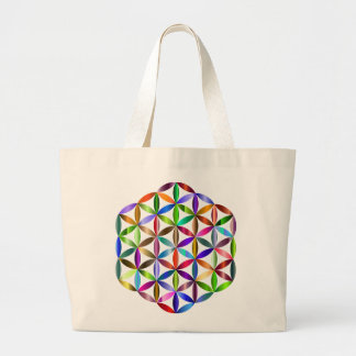 Flower of Life Jumbo Tote