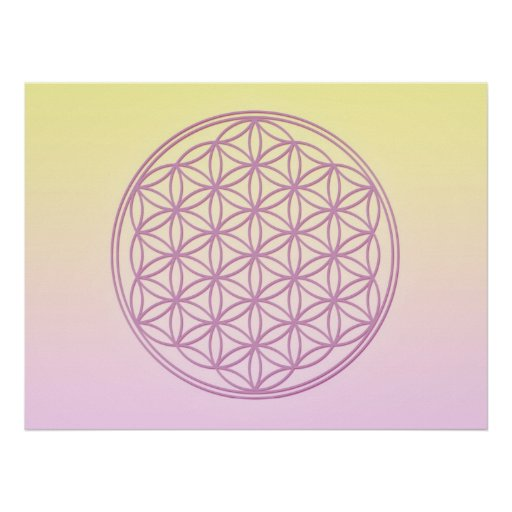Flower of Life - Lady Portia Poster