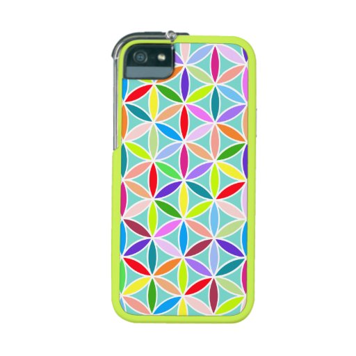 Flower of Life Large Pattern – Multicoloured Cover For iPhone 5
