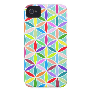 Flower of Life Large Pattern – Multicoloured iPhone 4 Case