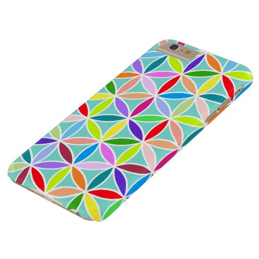 Flower of Life Large Pattern – Multicoloured Barely There iPhone 6 Plus Case