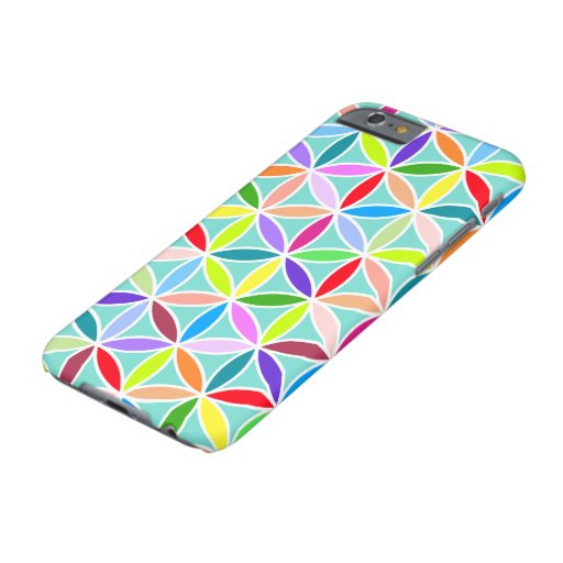 Flower of Life Large Pattern – Multicoloured Barely There iPhone 6 Case