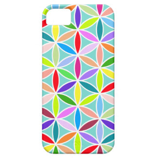 Flower of Life Large Pattern – Multicoloured iPhone 5 Cover