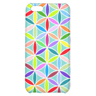 Flower of Life Large Pattern – Multicoloured Cover For iPhone 5C