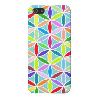 Flower of Life Large Pattern – Multicoloured Cover For iPhone 5/5S