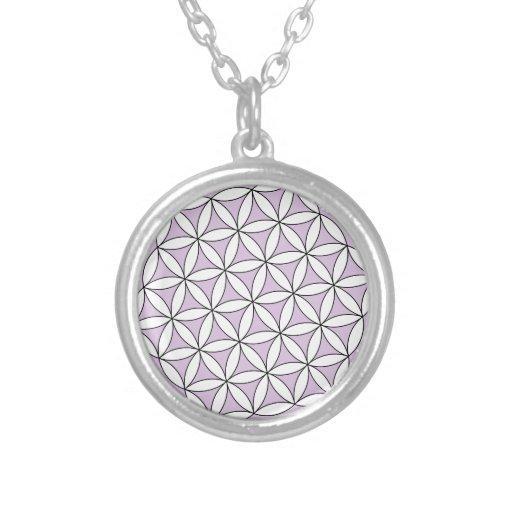 Flower of Life Lilac Custom Jewelry