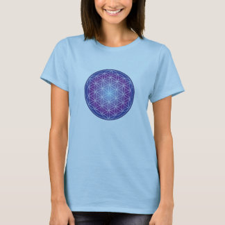 Flower of Life - Magenta T-Shirt