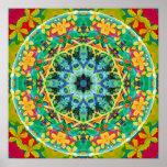 Flower of Life Mandala 10 Poster