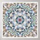 Flower of Life Mandala 1 Poster