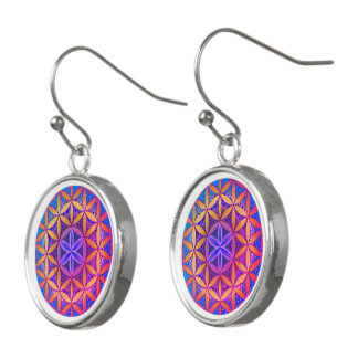 Flower of Life Mandala Earrings