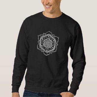 Flower of life Mandala Sweatshirt