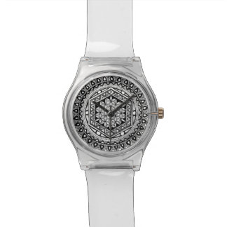 Flower of life mandala watch