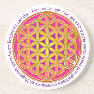 Flower Of Life / Moola Mantra Coaster
