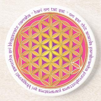 Flower Of Life / Moola Mantra Coaster