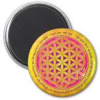 Flower Of Life / Moola Mantra Magnet