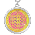 Flower Of Life / Moola Mantra Personalized Necklace