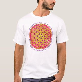 Flower Of Life / Moola Mantra T-Shirt
