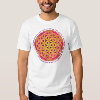 Flower Of Life / Moola Mantra Tee Shirts