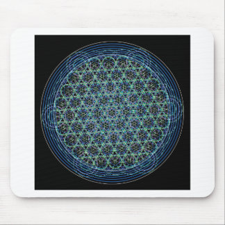 Flower of Life Mouse Mat