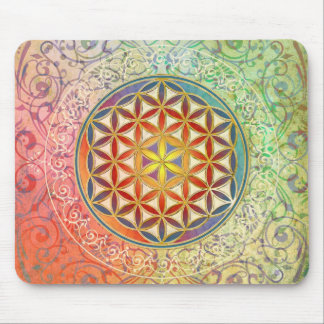 Flower of Life - Ornament I Mouse Pad